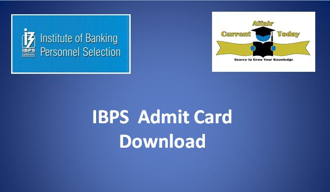 Download IBPS Admit Card