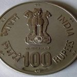 Rs 100 coin by RBI