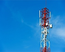 mobile towers in cantonments and Military areas