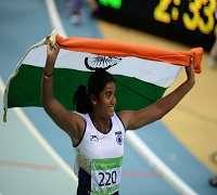Purnima Hembram won gold at Asian Indoor and Martial Arts Games
