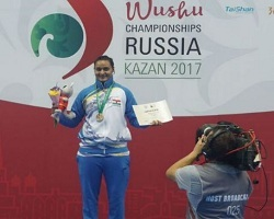 Pooja Kadian First Indian Woman To Win Gold Medal at Wushu World Championships