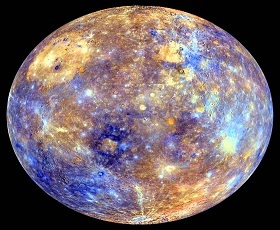 Mercury first planet of Sun Solar System