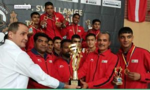 Indian junior boxers Tops at boxing tournament in Germany