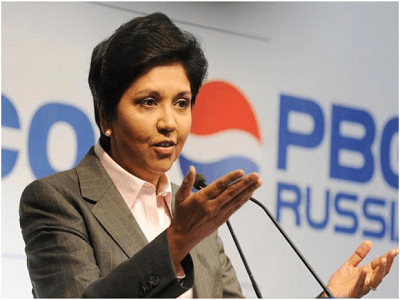 Indra Nooyi, first female independent director of ICC