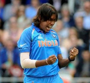 Jhulan Goswami-first female cricketer to take 200 ODI wickets
