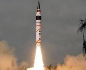 Nuclear weapon carrying capability Missile Agni-I flight-tested successfully