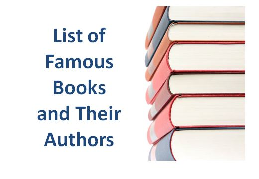 Famous Books And Authors List In Well Sorted Format