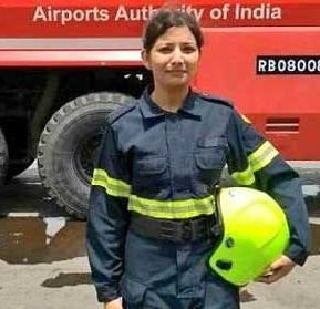 AAI Appoints Taniya Sanyal as First Woman Firefighter