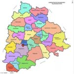List of districts of Telangana
