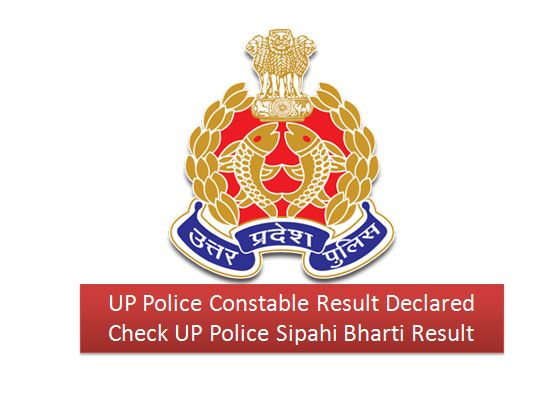 UP Police constable result check