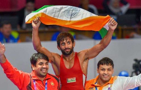 Bajrang Punia Won First Gold Medal For India