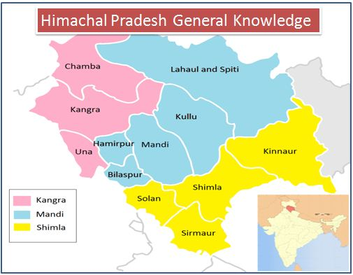 Himachal Pradesh GK - General Knowledge : 60 Most Important