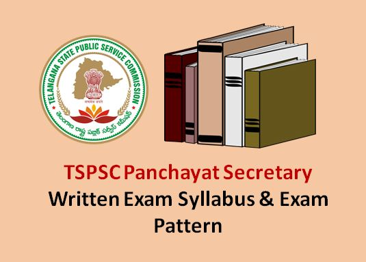 TSPSC Panchayat Secretary Syllabus PDF Download