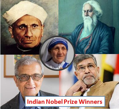 Indian Nobel Prize Winners List With Details, All Nobel Prize Laureates  from India | Current Affair Today